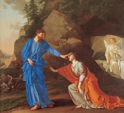 """Méditation de ce jeudi """"""""Toucher le Christ spirituellement"""" 1134577754"""